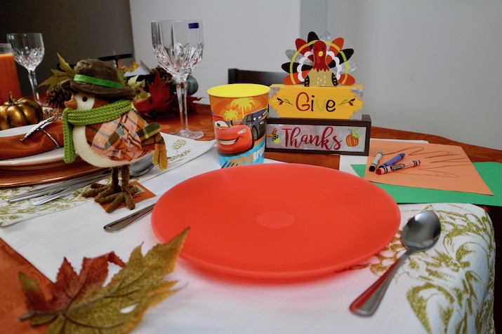 kids table thanksgiving