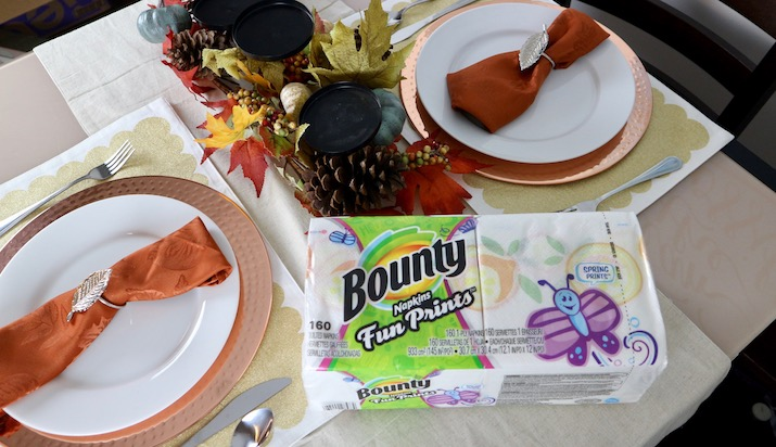 holiday bounty paper napkins