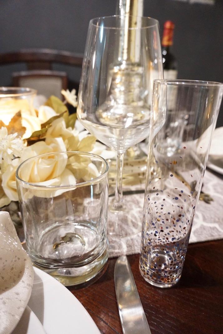 wine glasses Thanksgiving