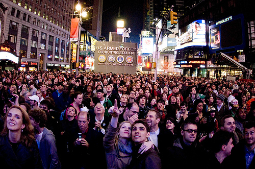 Election Night 2008 Times Square
