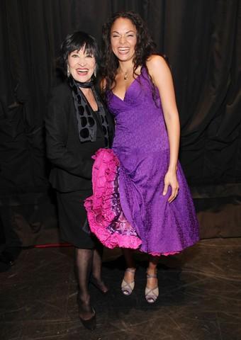 Chita Rivera and Karen Olivo