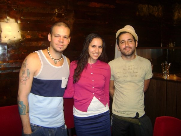 Calle 13 and Mercedes Sanchez from BeChicMag.com