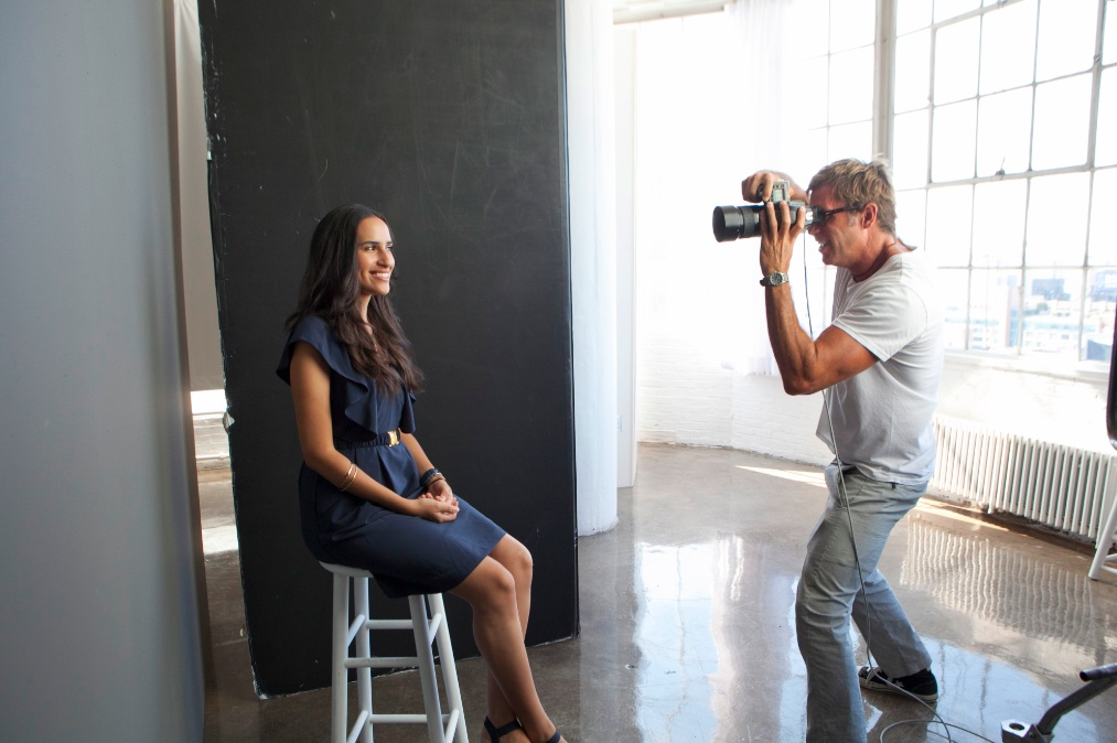 clinique photo shoot mercedes sanchez