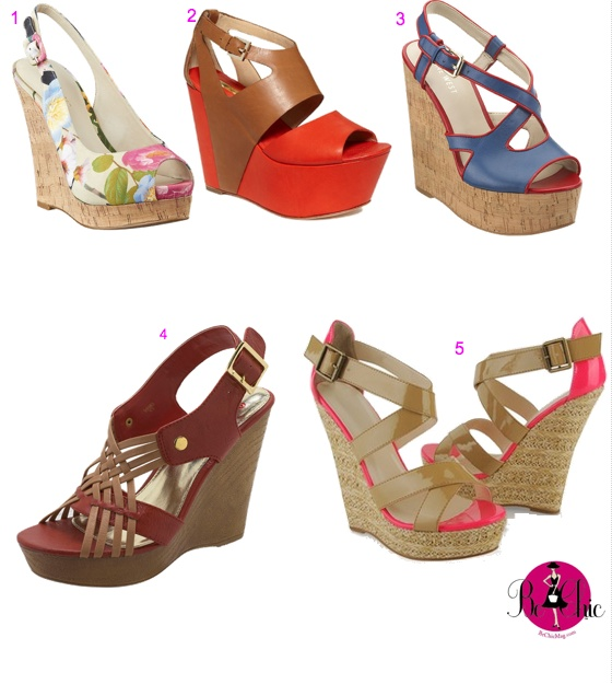 spring wedges shoes