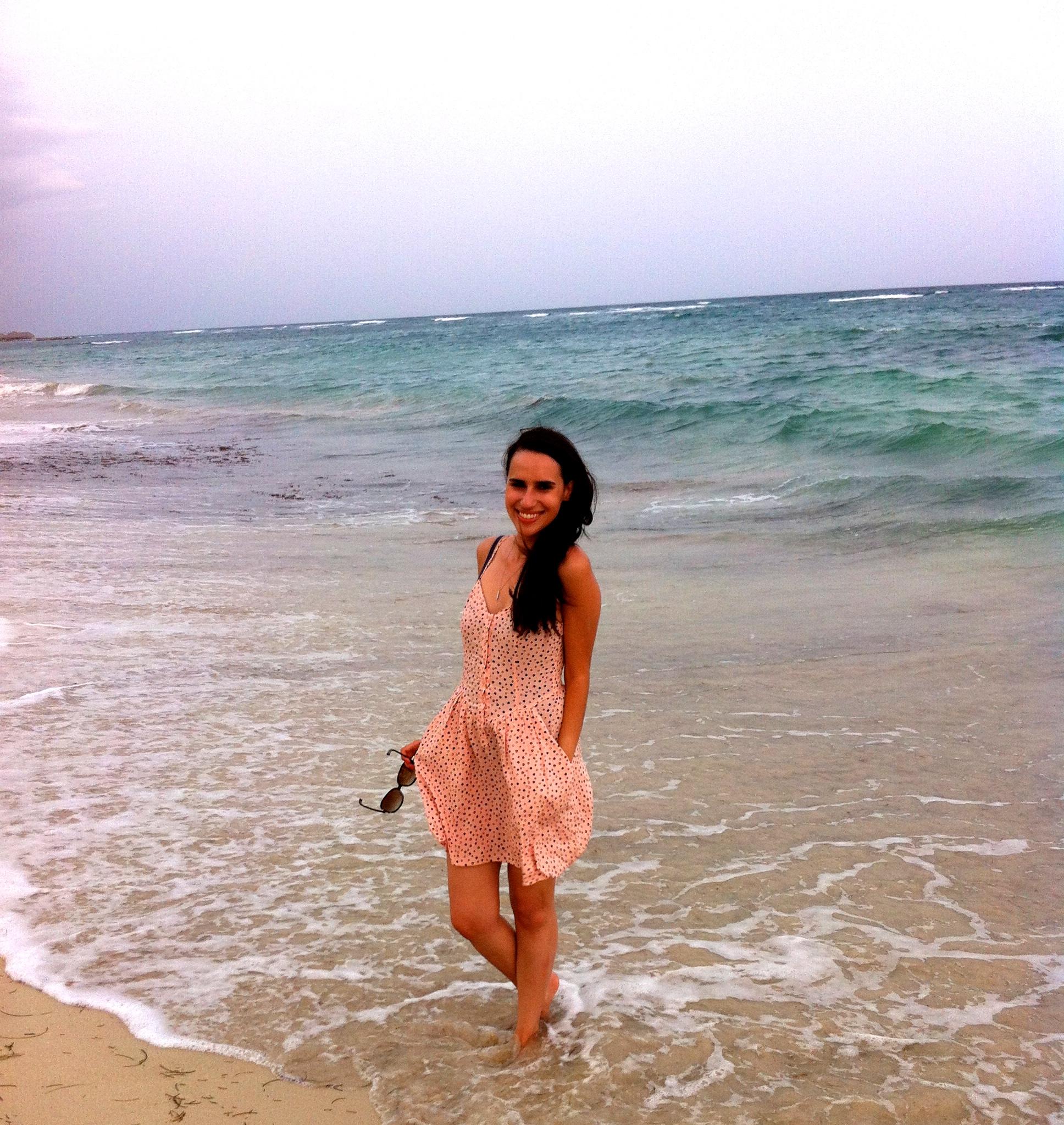 hm pink heart dress