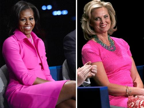 michelle obama pink