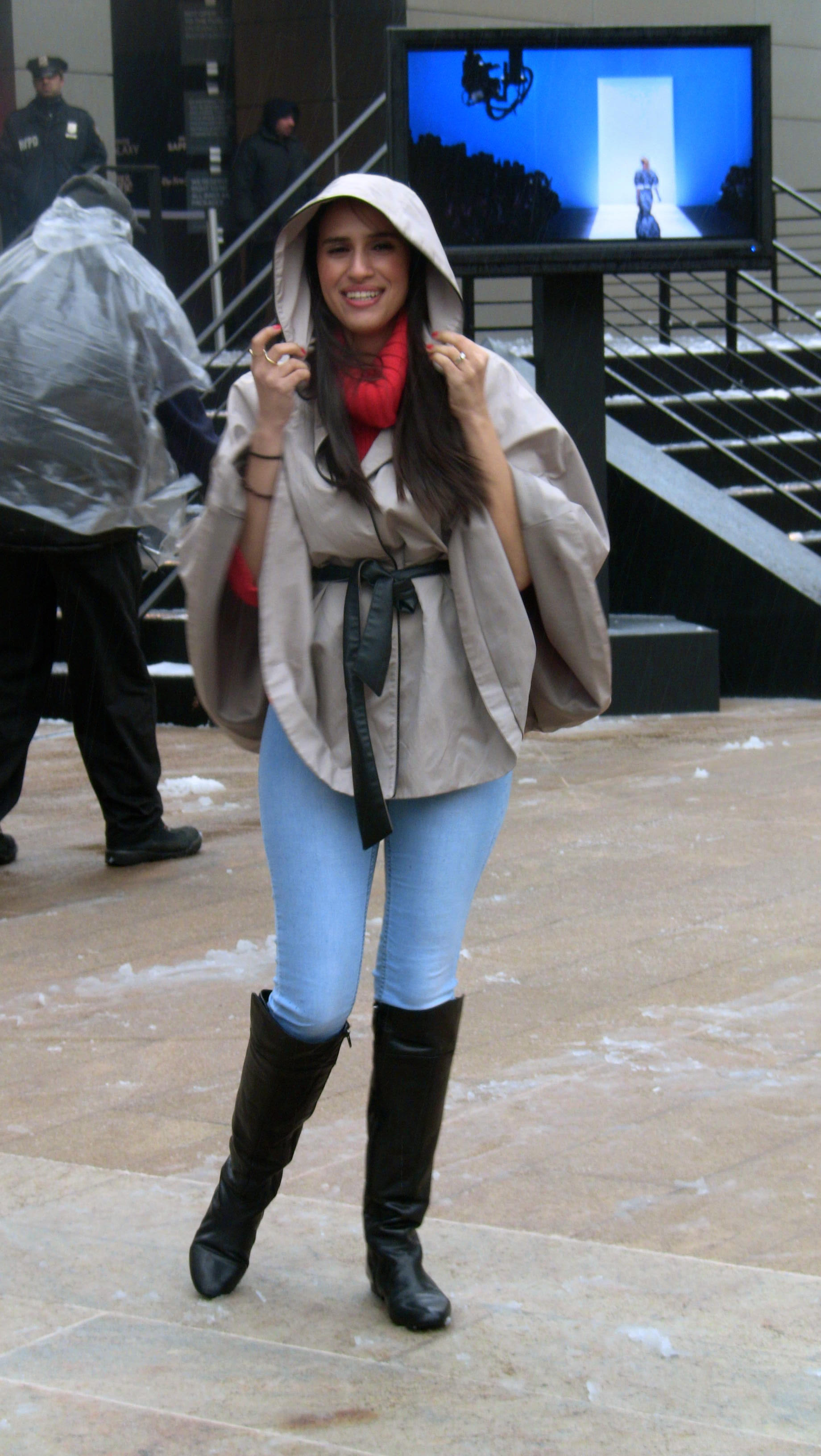 fashion week blizzard