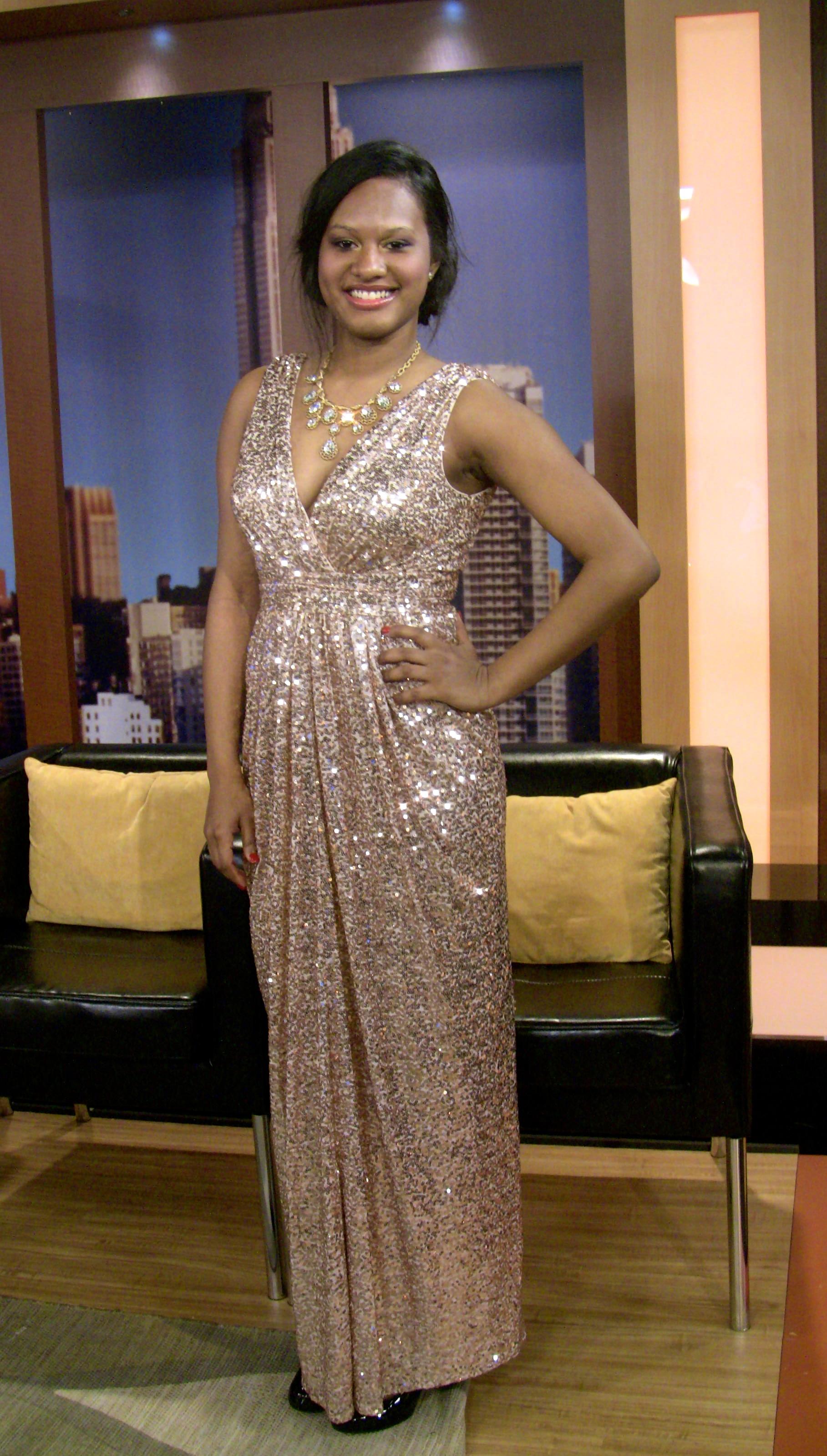 badgley mischka glitz prom dress rent the runway