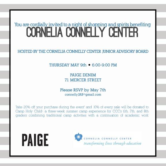 paige denim cornelia connelly center