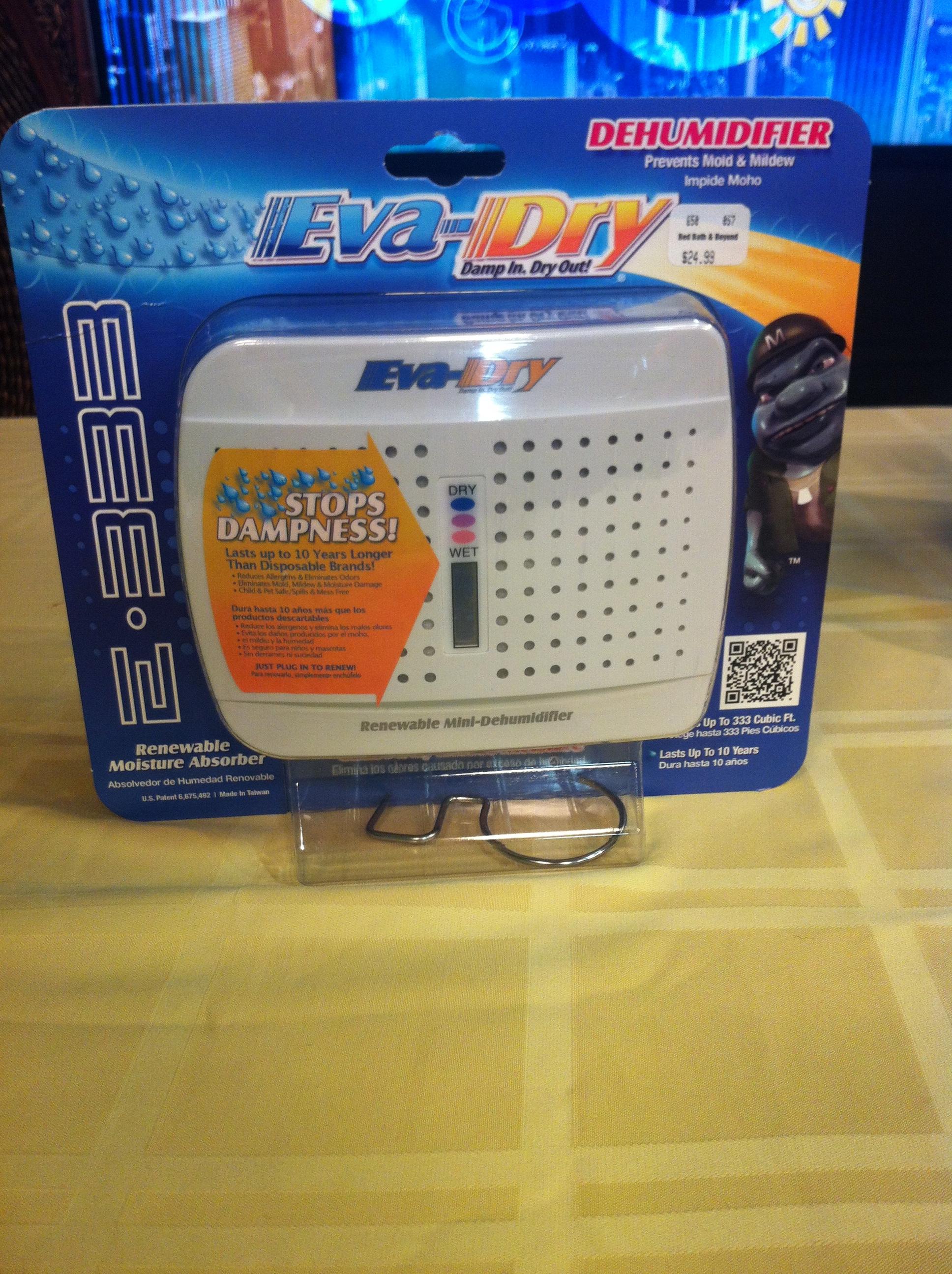 Eva-dry Electric Petite Dehumidifier