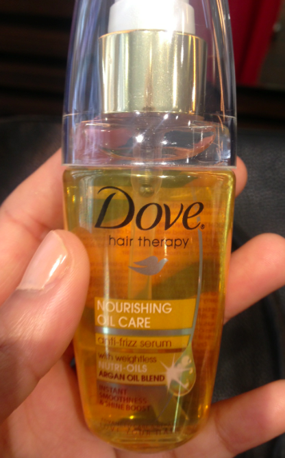 Dove Oil Care