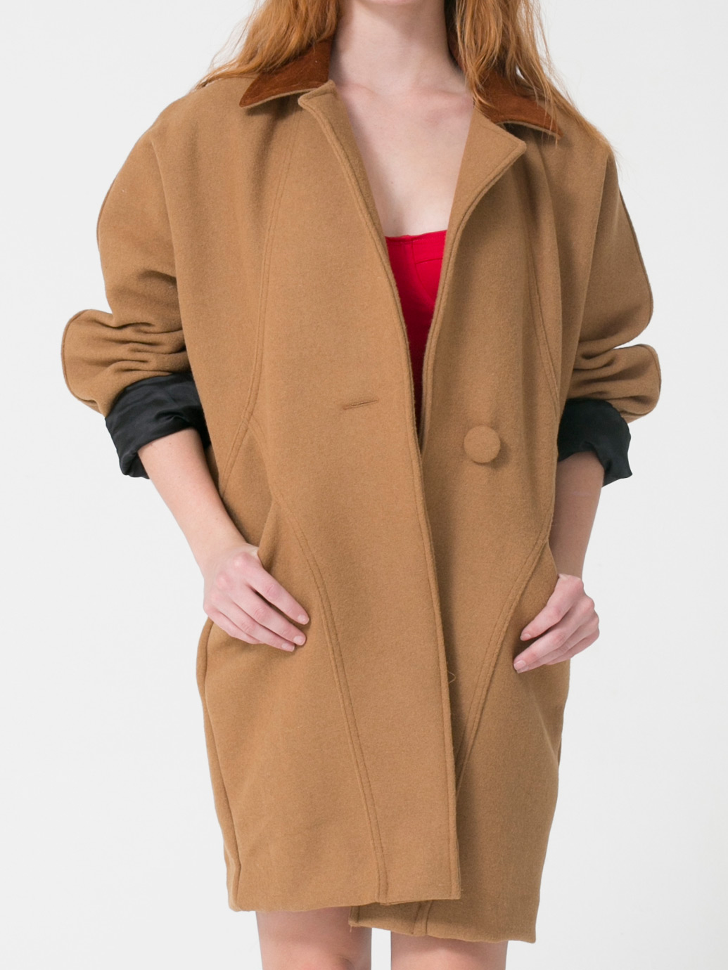 over sized coat american apparel