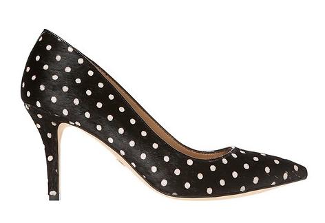 ann taylor polka dot heels