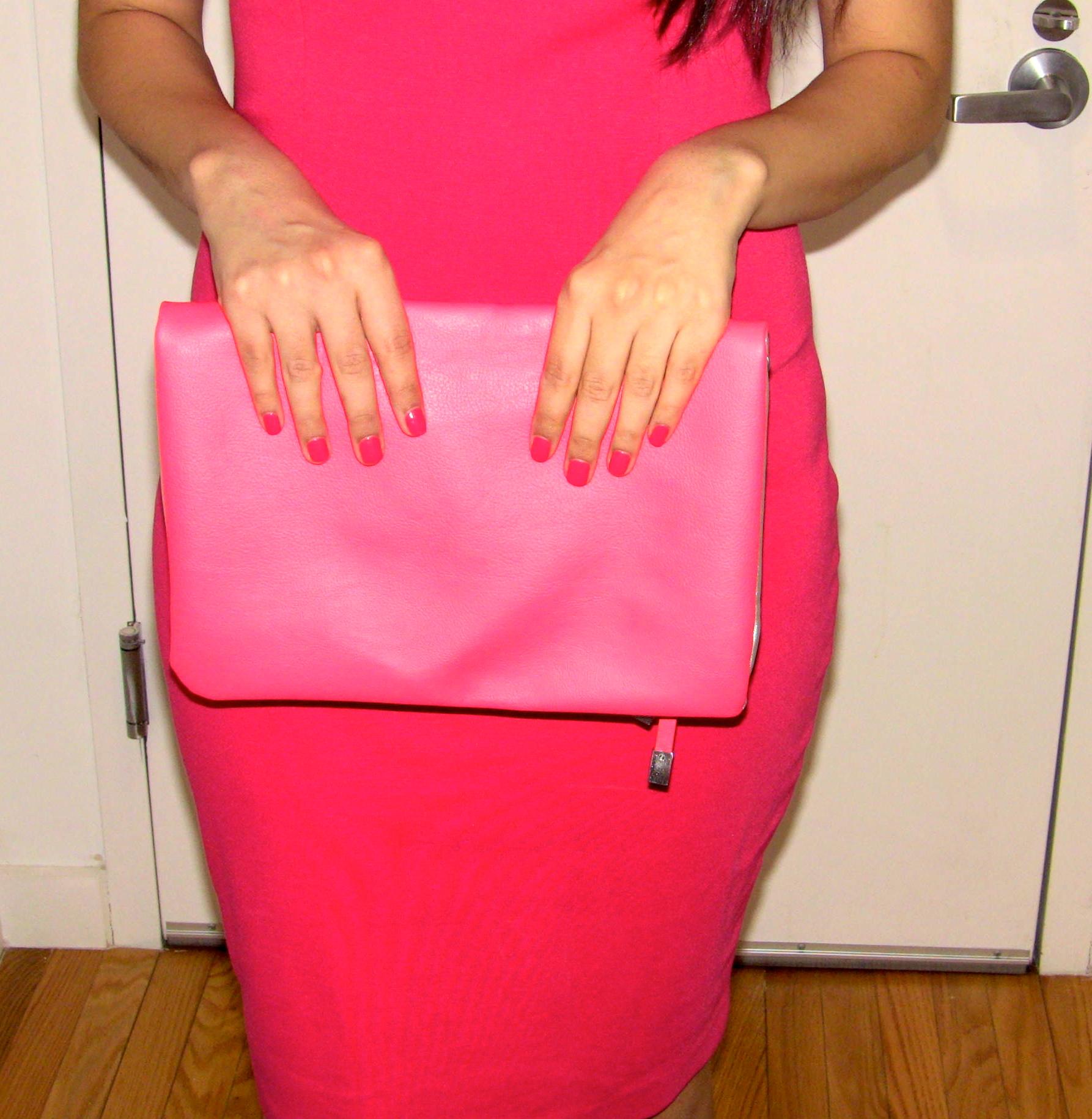 OPI pink nail polish