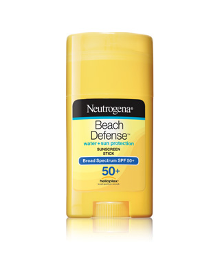 neutrogena beach defense stick sunscreen