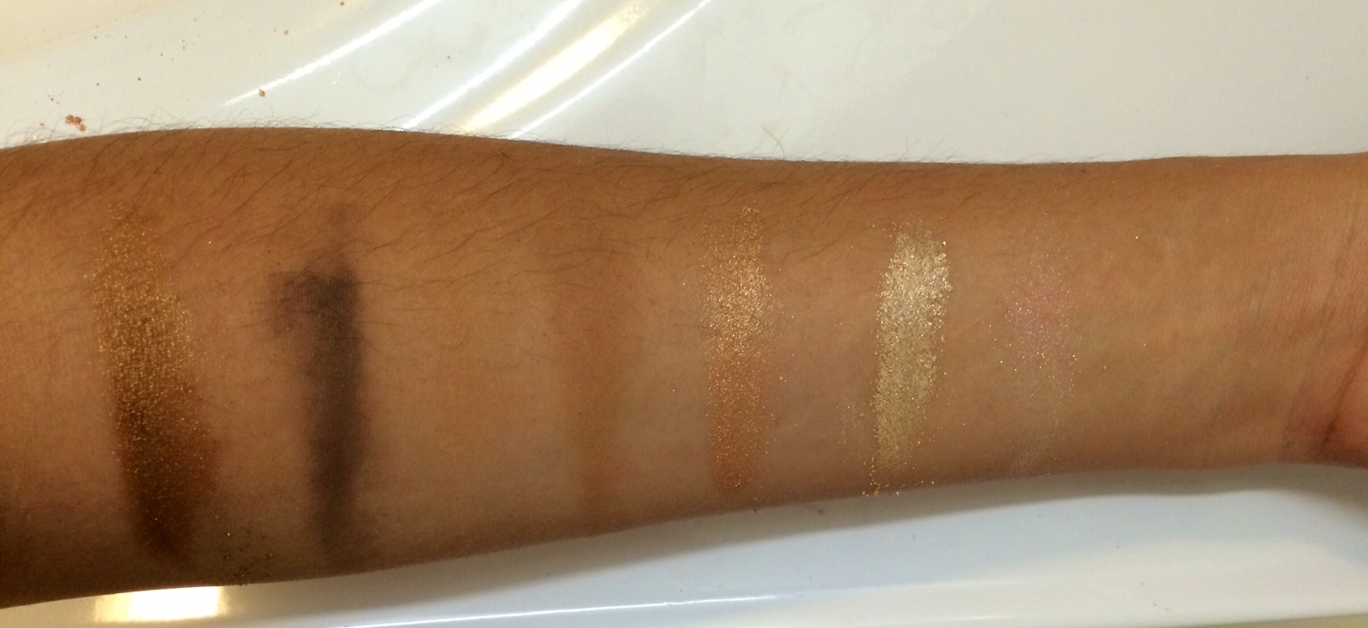 eyeshadow swatches be chic mag