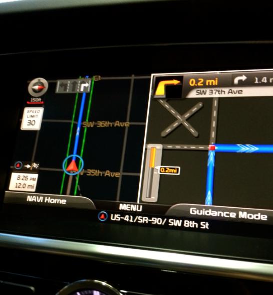 kia navigation