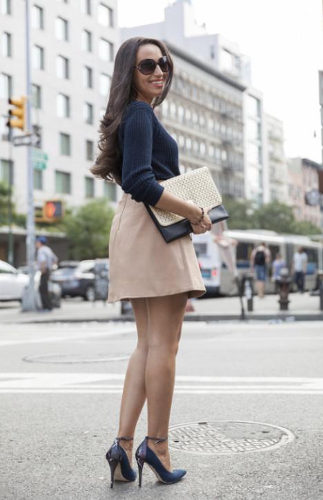 mercedes sanchez neutrals fashion week