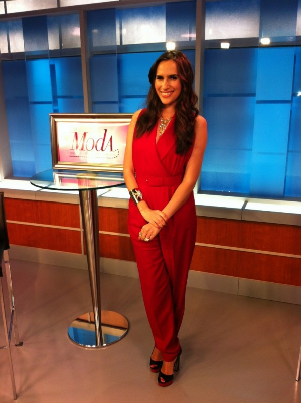 red jumpsuit be chic mag