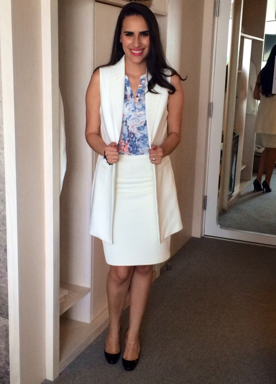 spring fashion white outfit be chic mag