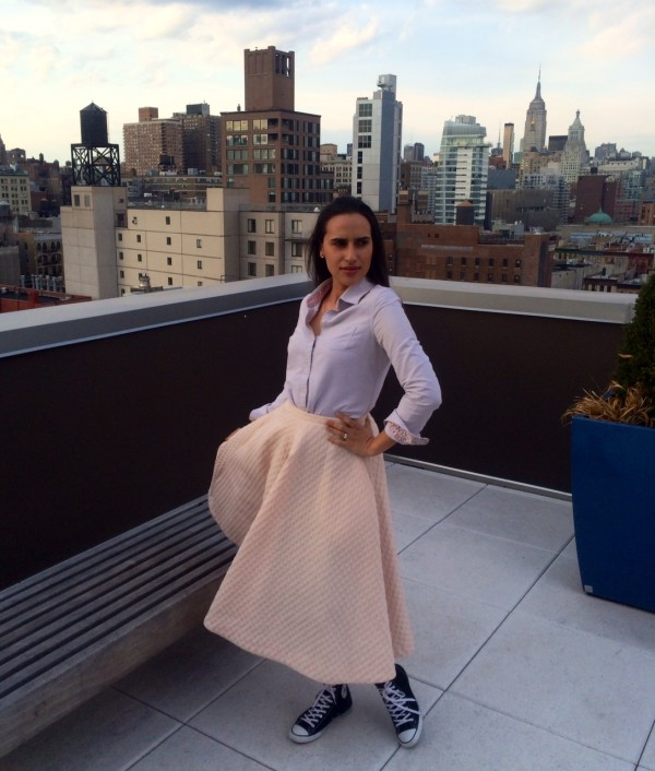 hm spring skirt