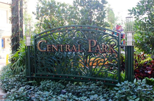 royal caribbean central park allure of the seas
