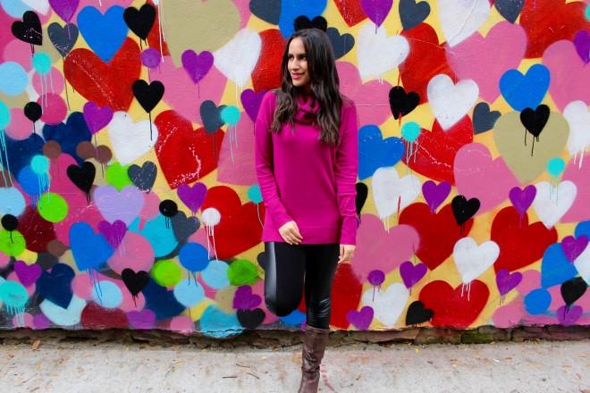 lower east side heart mural