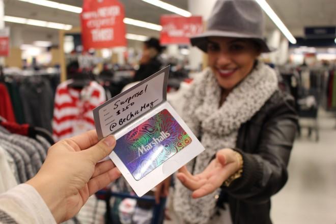 marshalls gift card
