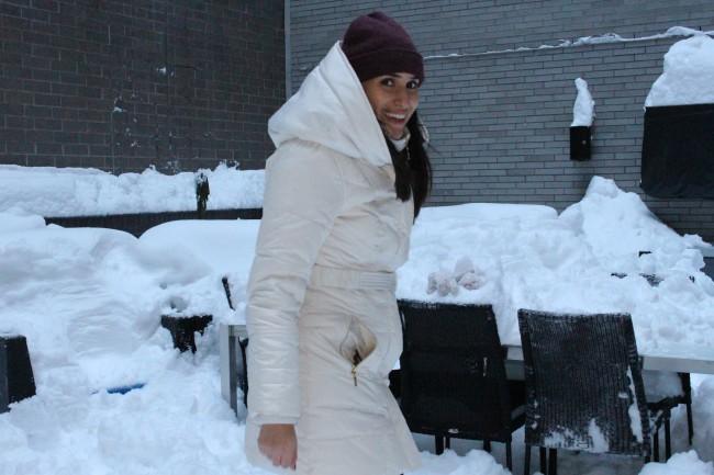 macys white coat