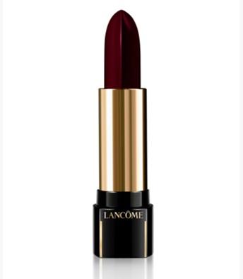 purple lipstick Lancome L'Absolu Rouge Definition