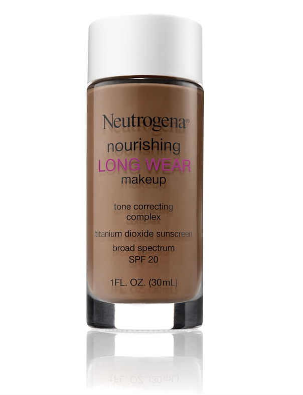 neutrogena long wear makejup chestnut