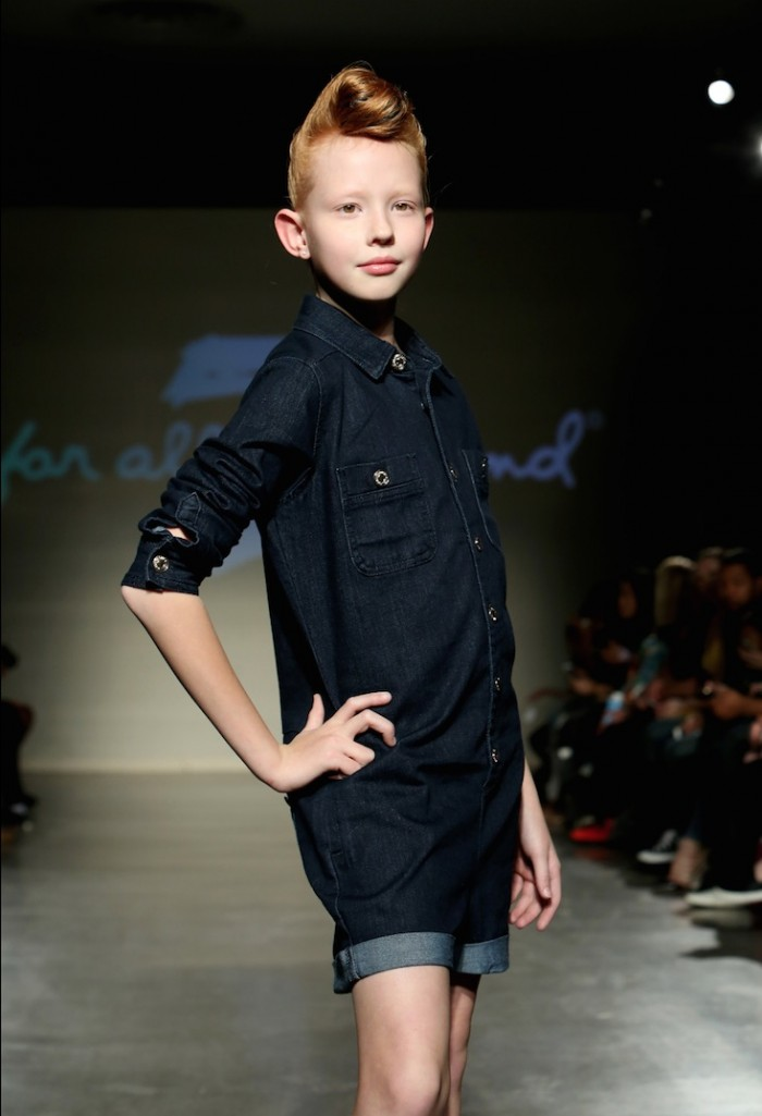 7 for all man kind kids fashion week