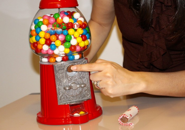 jc penney gum ball machine