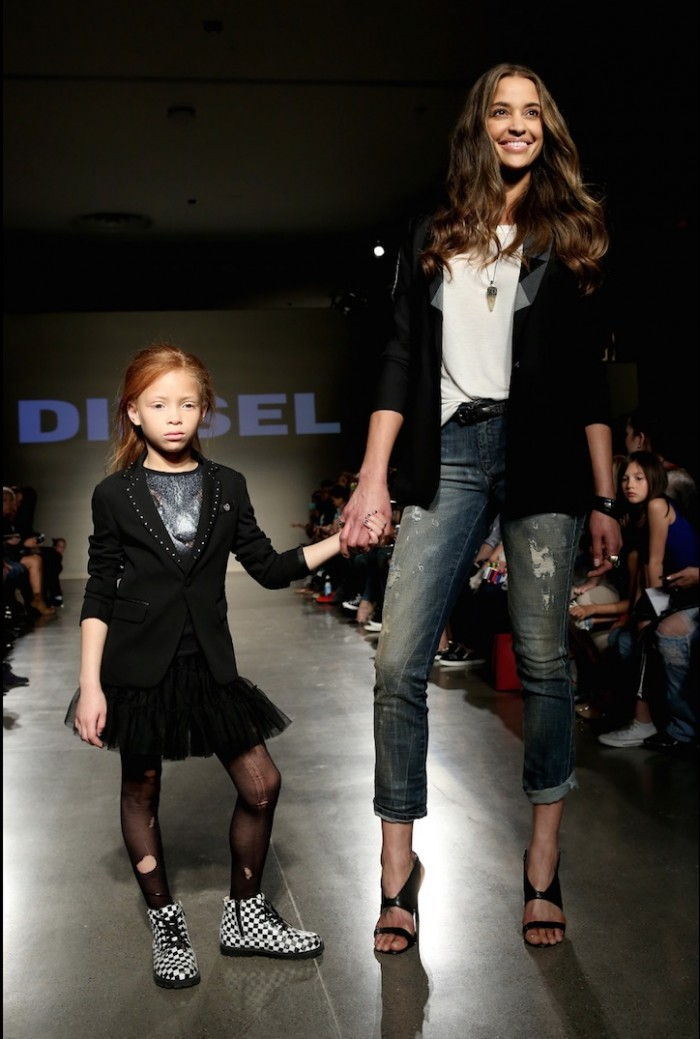 diesel kids fashion week