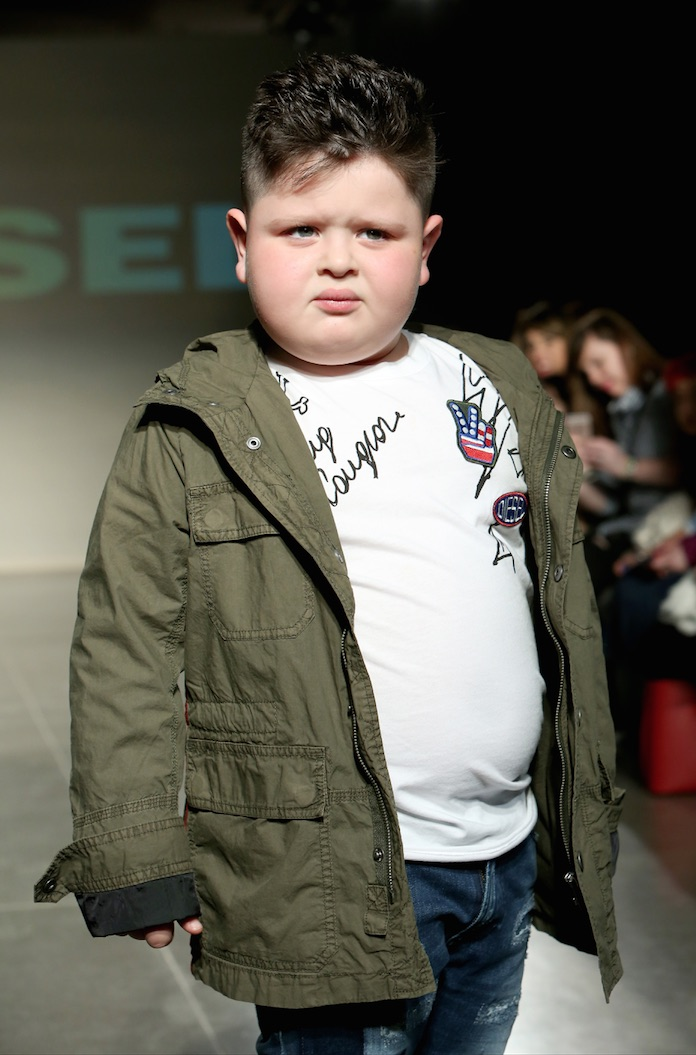 diesel kids fashion show