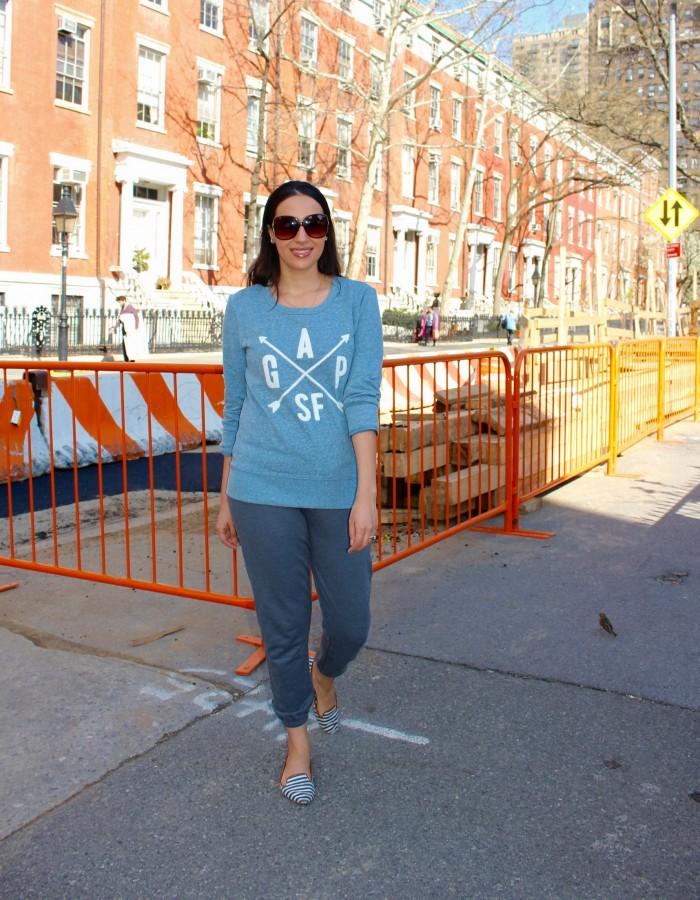 gap factory fashion blogger
