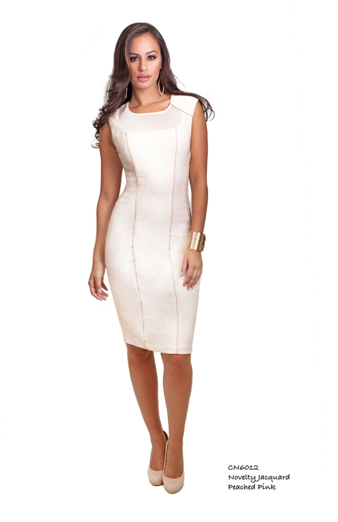 white dress cenia hsn