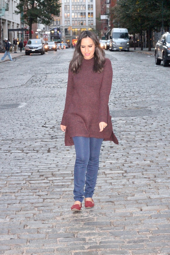burgundy fall fashion trends