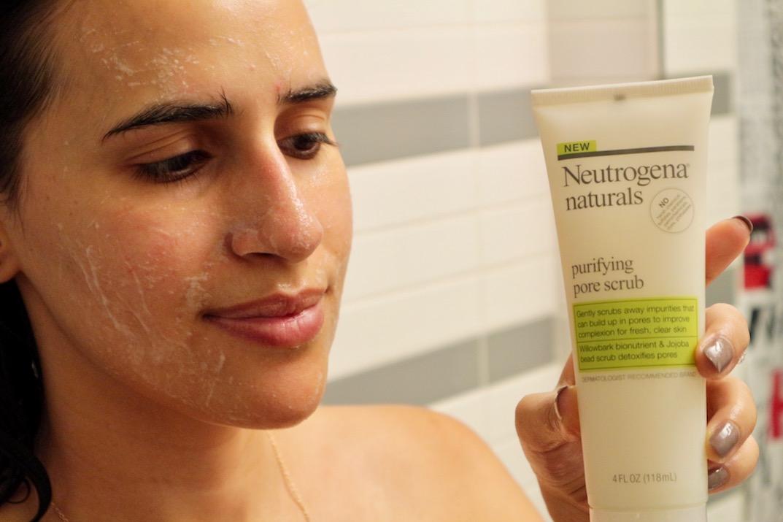 neutrogena pore scrub