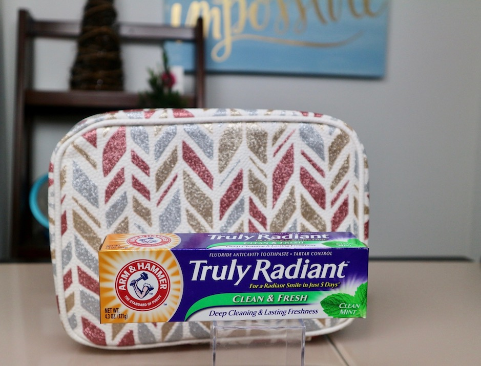 truly radiant arm and hammer toothpaste