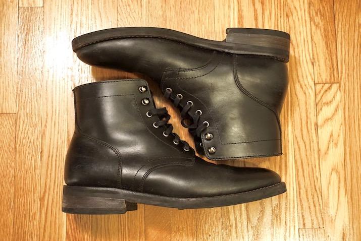 black president boot