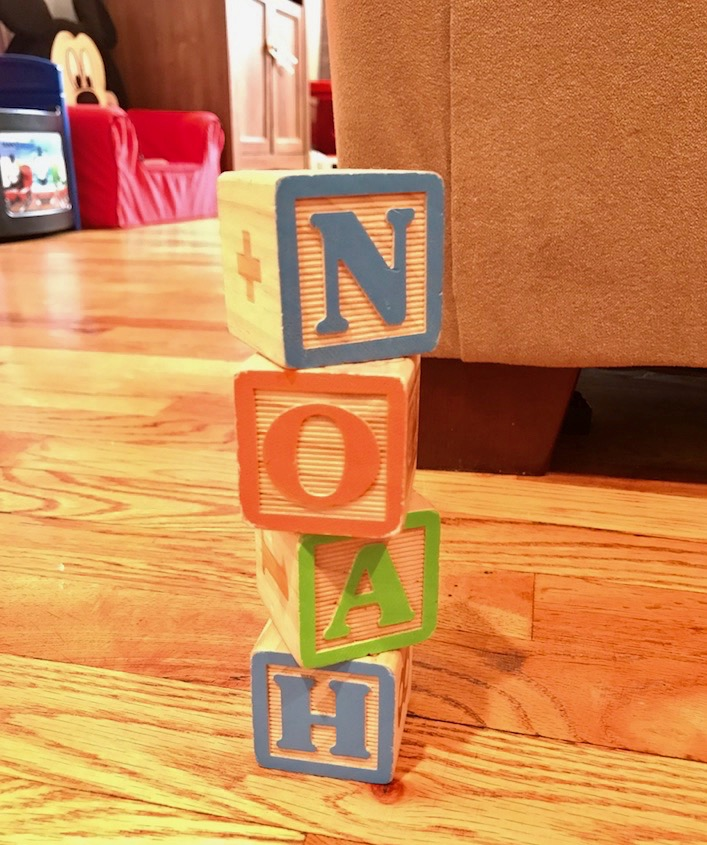 wooden blocks for toddlers