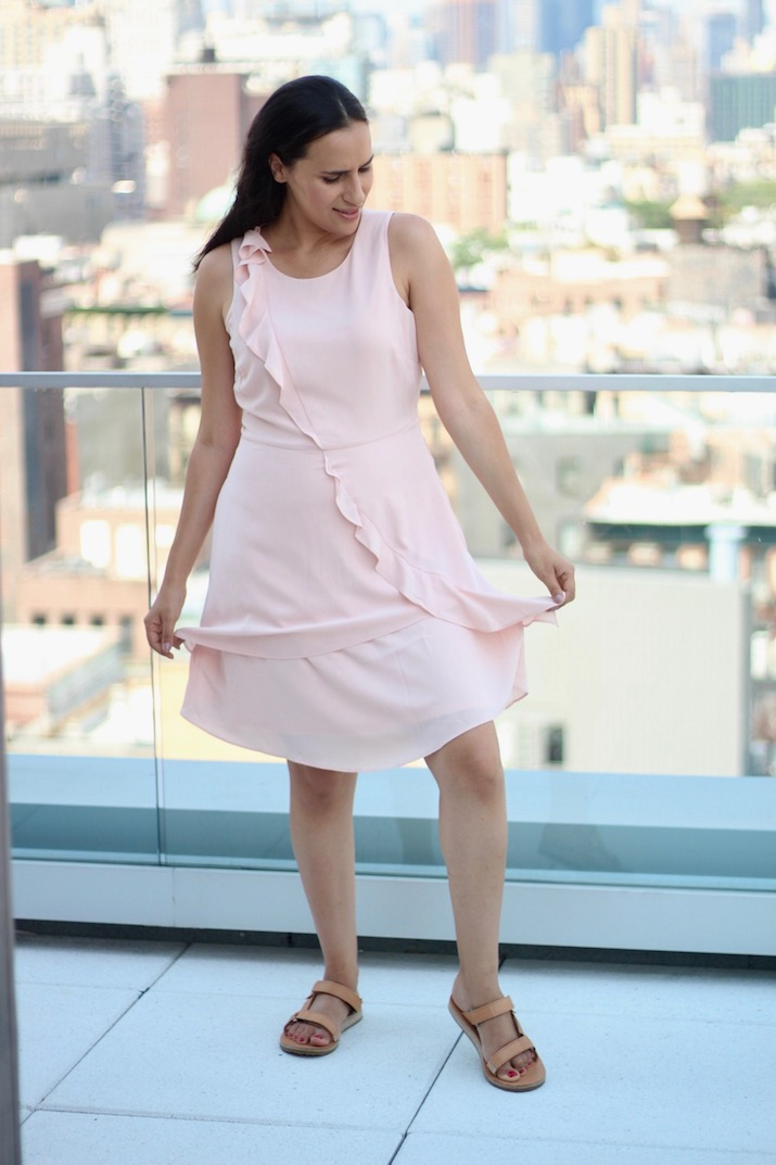 jcpenney pink dress