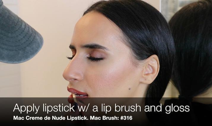 lipstick brush Mac cosmetics