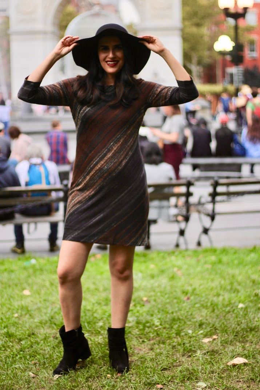 wool hat NYC blogger