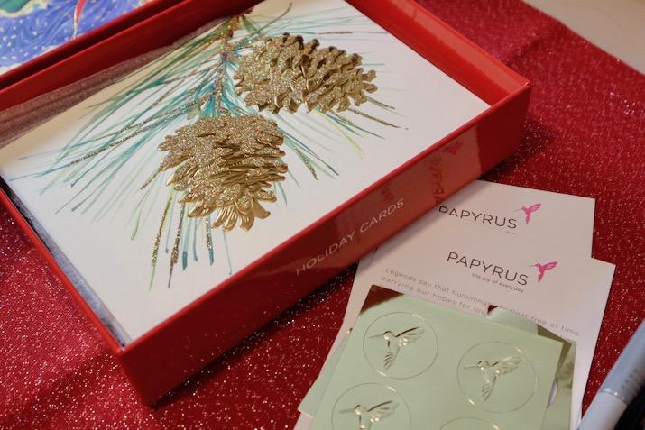 papyrus pine cones