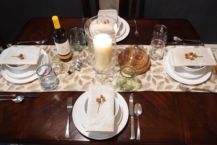 modern thanksgiving dinner