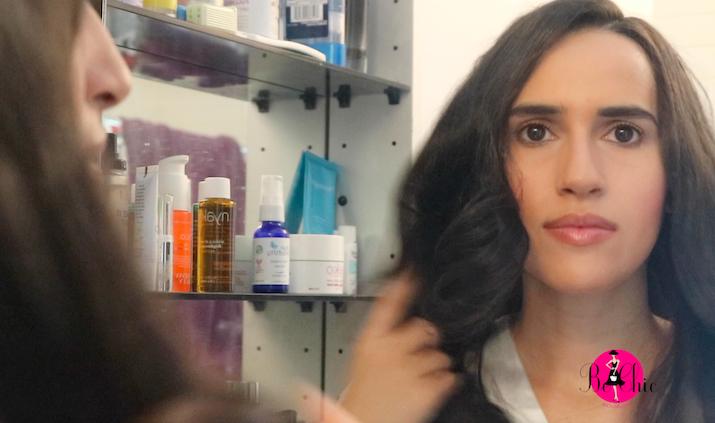 long hair latina beauty blogger