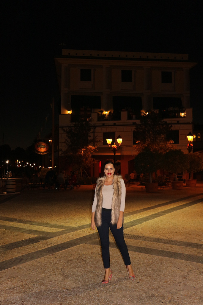 Lifestyle Expert Mercedes Sanchez at Universal's Loews Portifino Bay