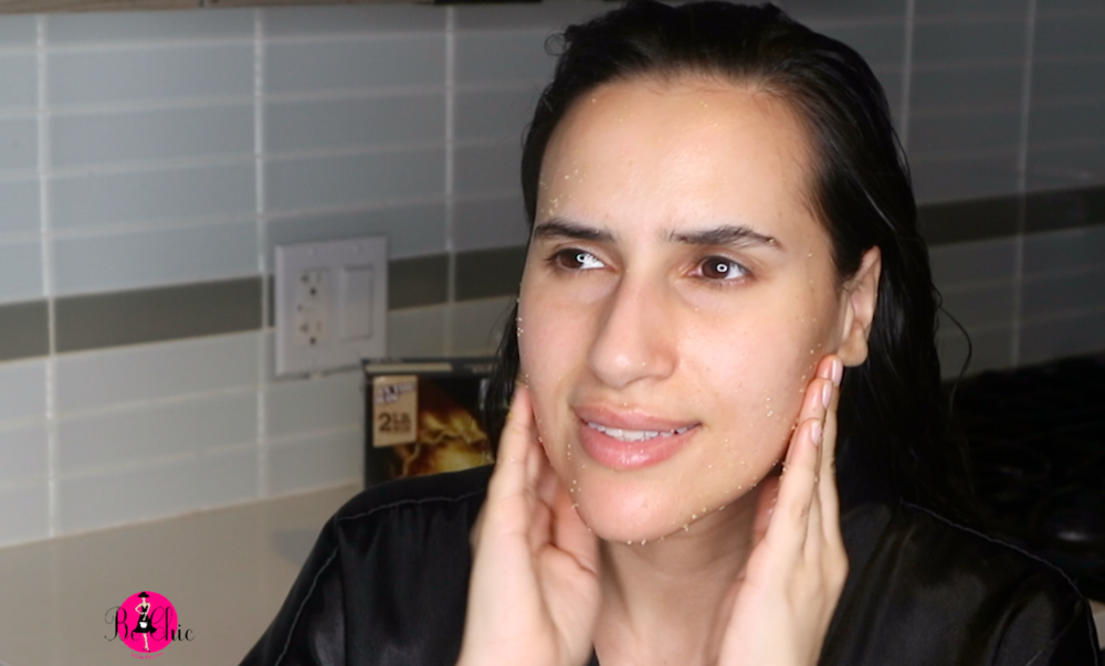 DIY Facial with Olive Oil and Brown Sugar